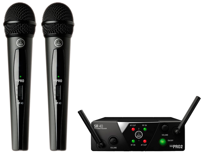 Радиосистема AKG WMS40 Mini 2 Vocal Set US25B/D