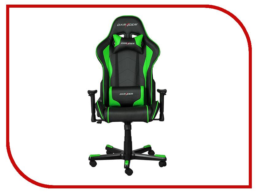 Компьютерное кресло DXRacer Formula OH/FD08 Black-Green компьютерное игровое кресло для геймеров dxracer oh ks06