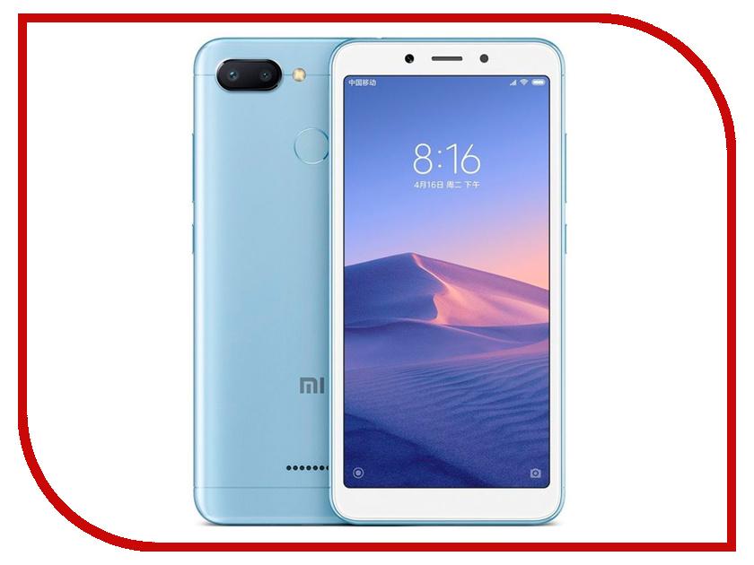 Сотовый телефон Xiaomi Redmi 6 3/64GB Blue сотовый телефон xiaomi redmi note 6 pro 4 64gb black