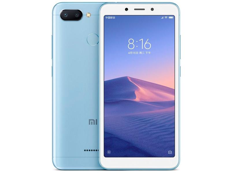 Сотовый телефон Xiaomi Redmi 6 3/64GB Blue