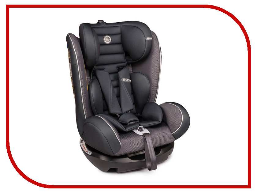 Автокресло Happy Baby Spector Graphite 4690624026270 рубашка quelle coccodrillo 1005037