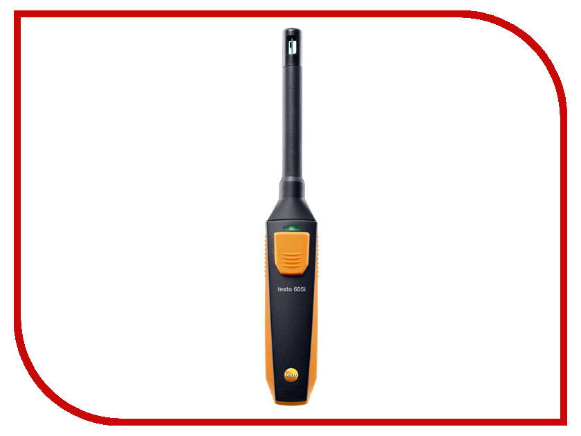 Гигрометр Testo 605i Black-Orange логгер testo 174t