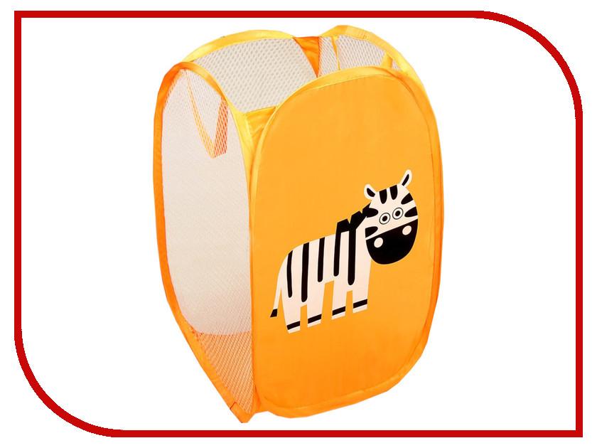 Корзина для игрушек СИМА-ЛЕНД Зебра 2313387
