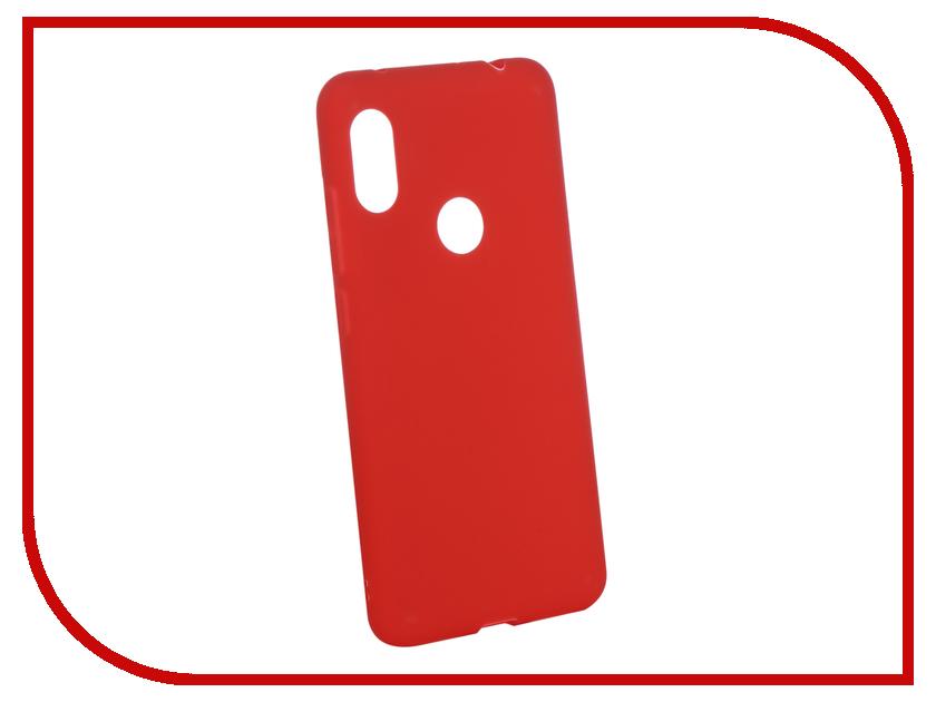 Аксессуар Чехол для Xiaomi Redmi Note 6 Pro Zibelino Soft Matte Red ZSM-XIA-RDM-NOT6-PRO-RED redmi note 6 pro 4 64 pink