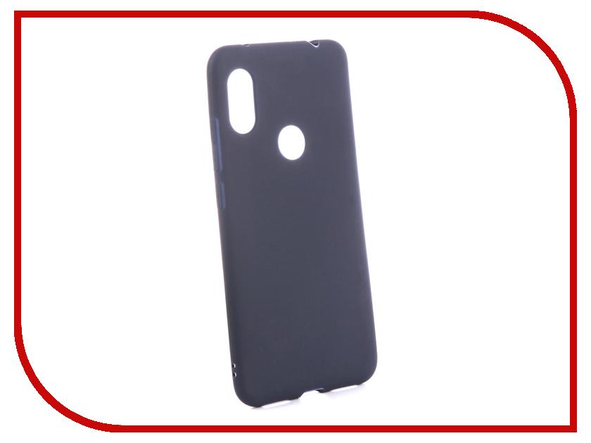 Аксессуар Чехол для Xiaomi Redmi Note 6 Pro Zibelino Soft Matte Blue ZSM-XIA-RDM-NOT6-PRO-BLU аксессуар чехол для xiaomi redmi 6 pro gecko transparent white s g xir6pro wh