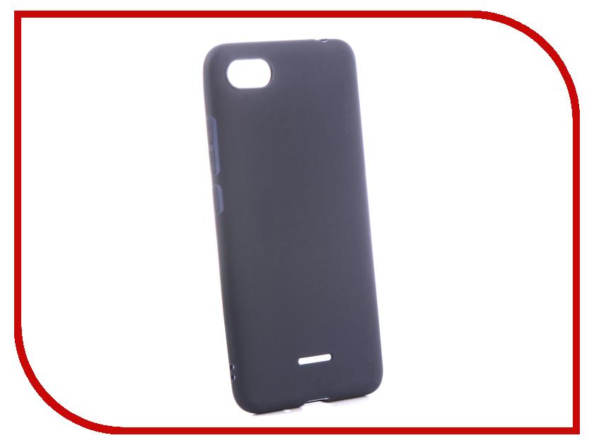 Аксессуар Чехол для Xiaomi Redmi 6A Zibelino Soft Matte Blue ZSM-XIA-6A-BLU аксессуар чехол xiaomi redmi 5 plus zibelino soft matte turquoise zsm xia 5pl tqs