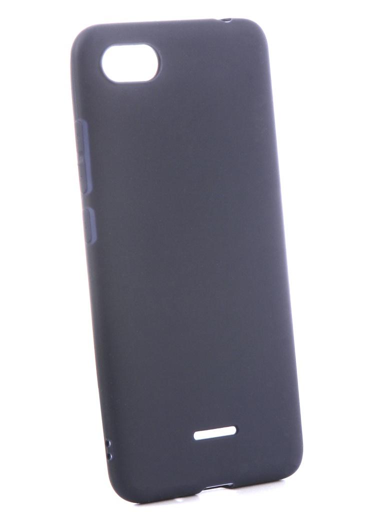 Чехол Zibelino для Xiaomi Redmi 6A Soft Matte Blue ZSM-XIA-6A-BLU