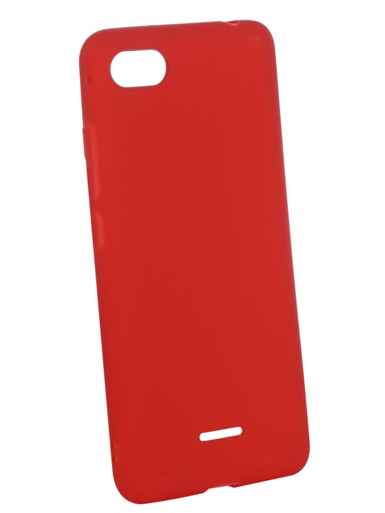 Аксессуар Чехол Zibelino для Xiaomi Redmi 6A Soft Matte Red ZSM-XIA-6A-RED цена и фото
