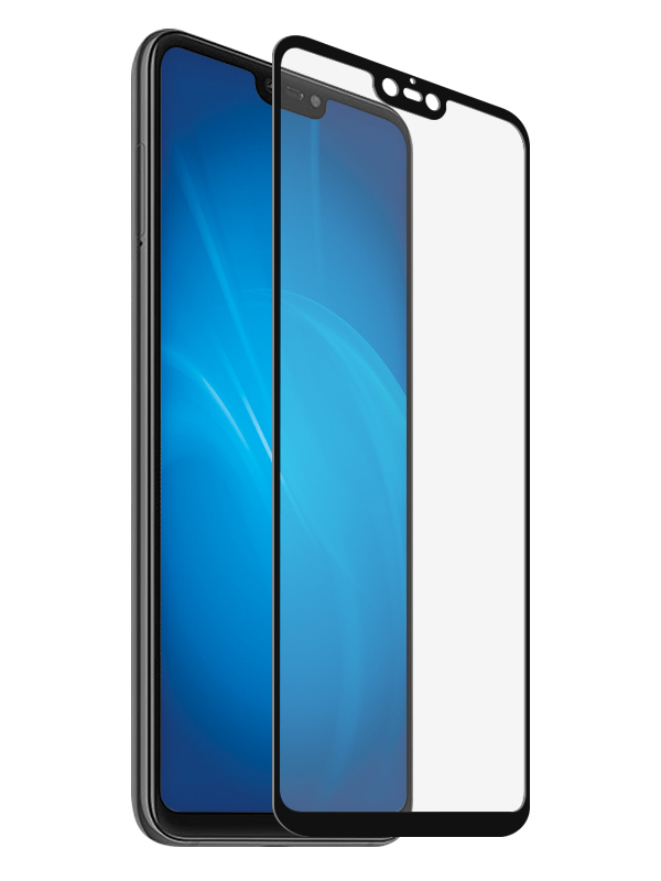 Защитное стекло Zibelino для Xiaomi Mi8 Lite TG 5D Black ZTG-5D-XMI-MI8-LIT-BLK