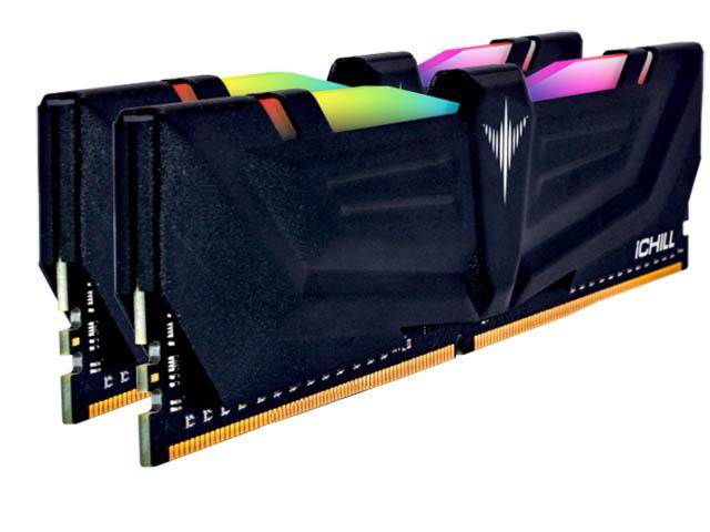 Модуль памяти Inno3D iChill RGB - AURA DDR4 DIMM 3600MHz PC4-28800 CL17 - 16Gb KIT (2x8Gb) RCX2-16G3600A модуль оперативной памяти inno3d ichill ddr4 16gb 2x8gb pc 19200 2400 мгц rgb rainbow rcx2 16g2400r