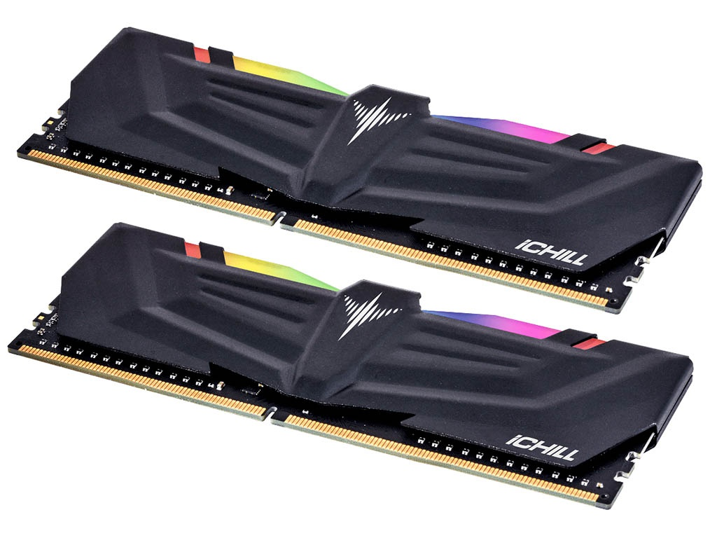 Модуль памяти Inno3D iChill RGB - Rainbow DDR4 DIMM 2400MHz PC4-19200 CL16 - 16Gb KIT (2x8Gb) RCX2-16G2400R