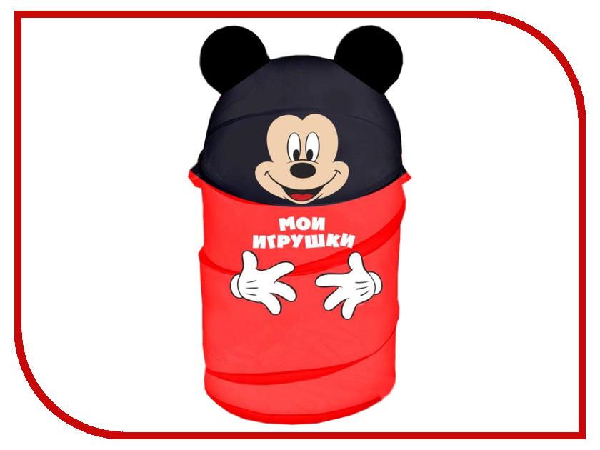 Корзина для игрушек Disney Микки Маус и его друзья 2732136 ящики для игрушек disney короб для игрушек микки и его друзья