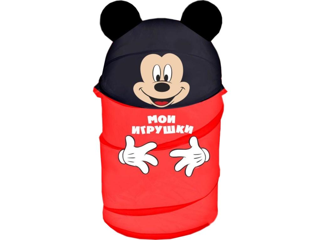Корзина для игрушек Disney Микки Маус и его друзья 2732136 disney блокнот микки маус ты лучше всех 60 листов