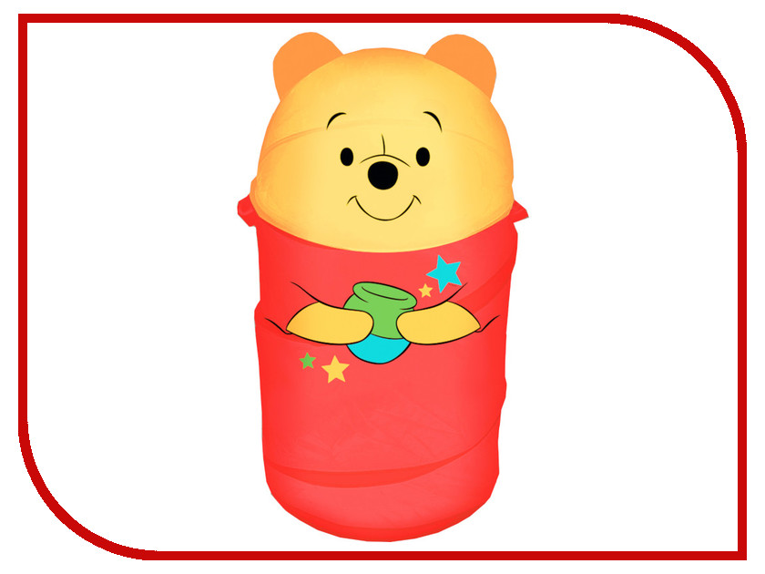 Корзина для игрушек Disney Медвежонок Винни и его друзья 2732135 корзина для игрушек disney микки маус и его друзья 2732136