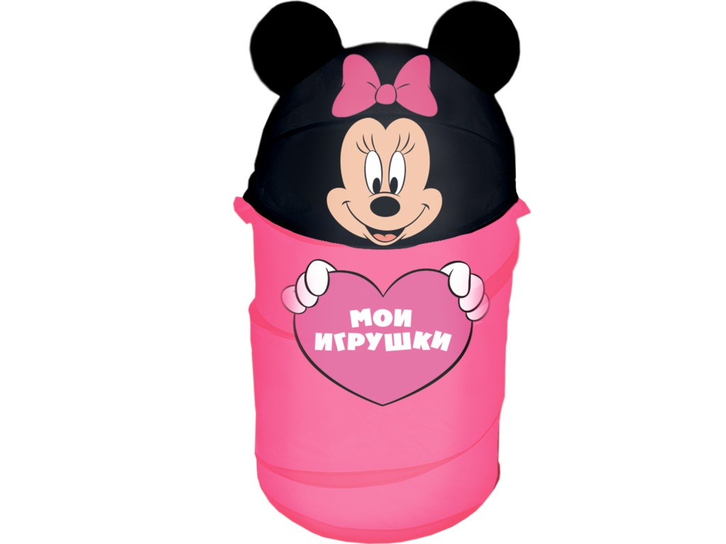 Корзина для игрушек Disney Мои игрушки Минни Маус 2732137 цена