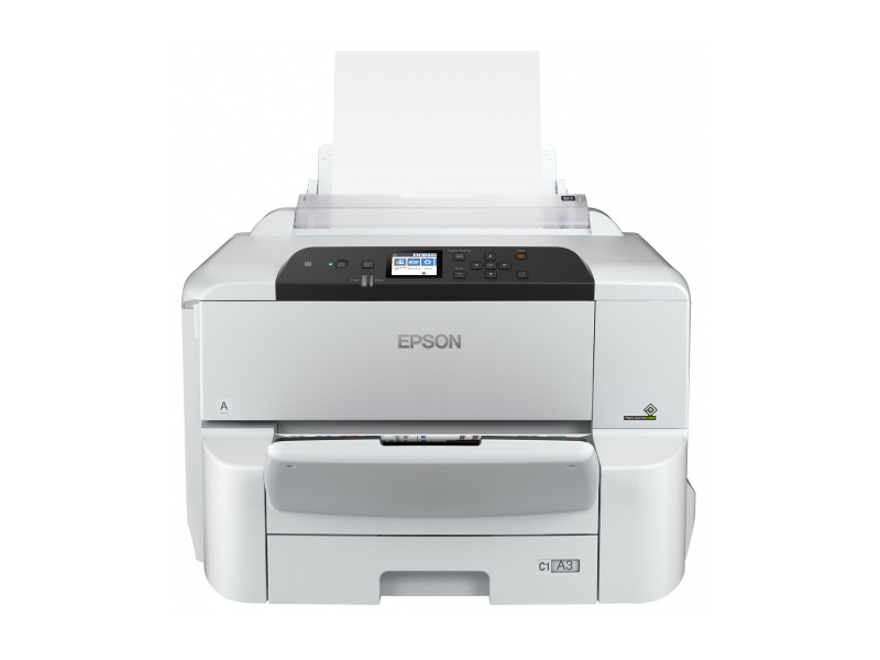 Принтер Epson WorkForce Pro WF-C8190DW картридж epson c13t838240 для epson workforce pro wf r5190dtw wf r5690df голубой