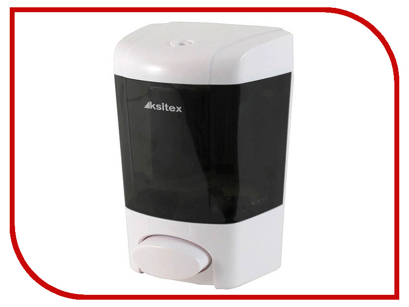 Дозатор Ksitex SD-1003B-800 для жидкого мыла White дозатор ksitex sd 1618 800