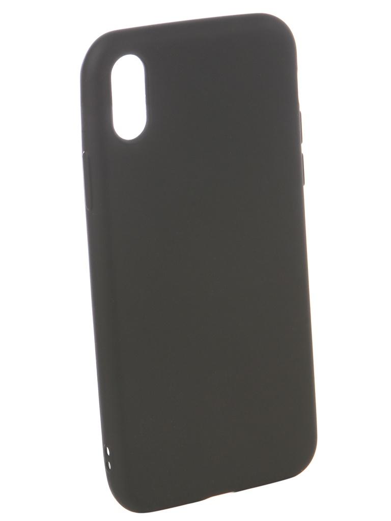 Аксессуар Чехол Ubik для APPLE iPhone X TPU Black 31340