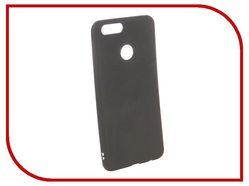 Аксессуар Чехол для Huawei Honor 7X Ubik TPU Black 131337 аксессуар чехол huawei honor 5x mate 7 mini cojess tpu 0 8mm black матовый