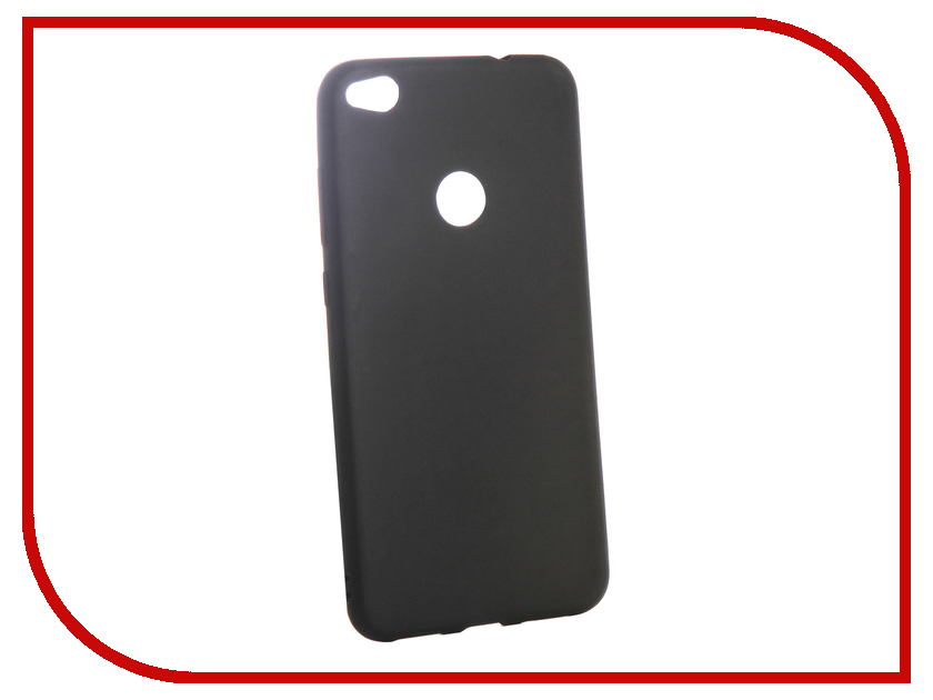 Аксессуар Чехол для Huawei Honor 8 Lite Ubik TPU Black 13133
