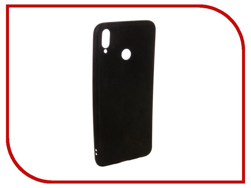 Аксессуар Чехол для Huawei Honor 8X Ubik TPU Black 131331 аксессуар чехол huawei honor 5x mate 7 mini cojess tpu 0 8mm black матовый