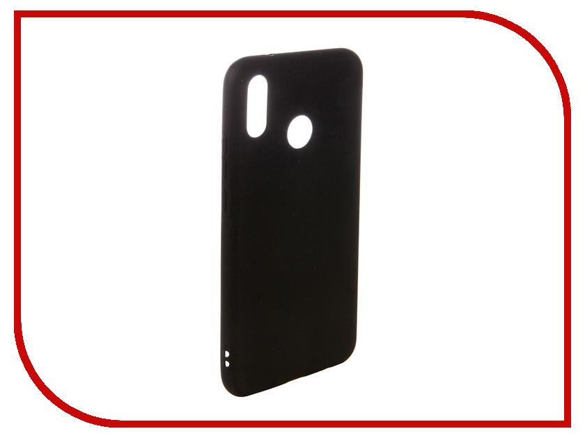 Аксессуар Чехол для Huawei P20 Lite Ubik TPU Black 131333 сотовый телефон huawei p20 lite black