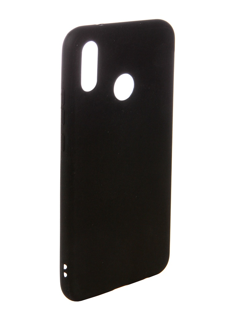 Аксессуар Чехол Ubik для Huawei P20 Lite TPU Black 131333 аксессуар чехол ubik для samsung a8 tpu black 31358