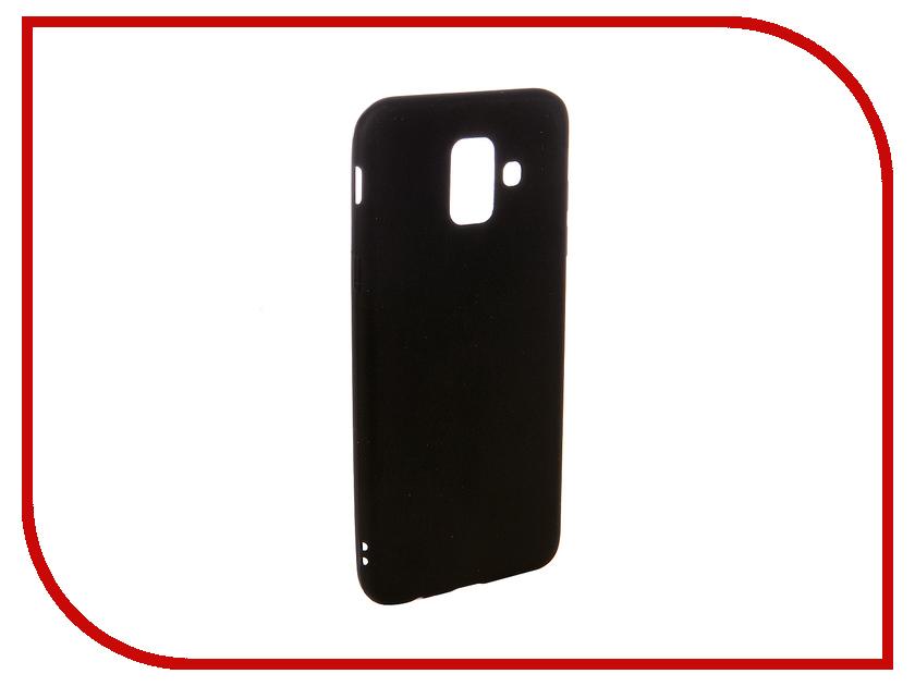 Аксессуар Чехол для Samsung A6 2018 Ubik TPU Black 31355 аксессуар чехол samsung j3 2017 j330f zibelino clear view black zcv sam j330 blk