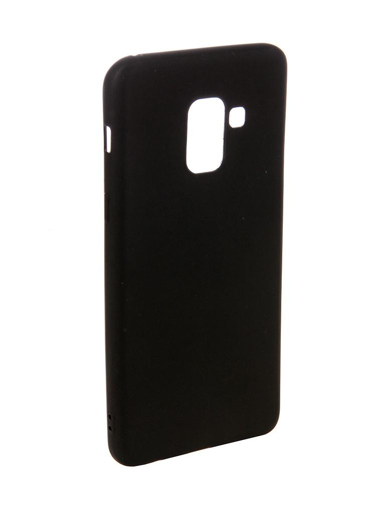 Аксессуар Чехол Ubik для Samsung A8 TPU Black 31358 аксессуар чехол ubik для samsung a8 tpu black 31358