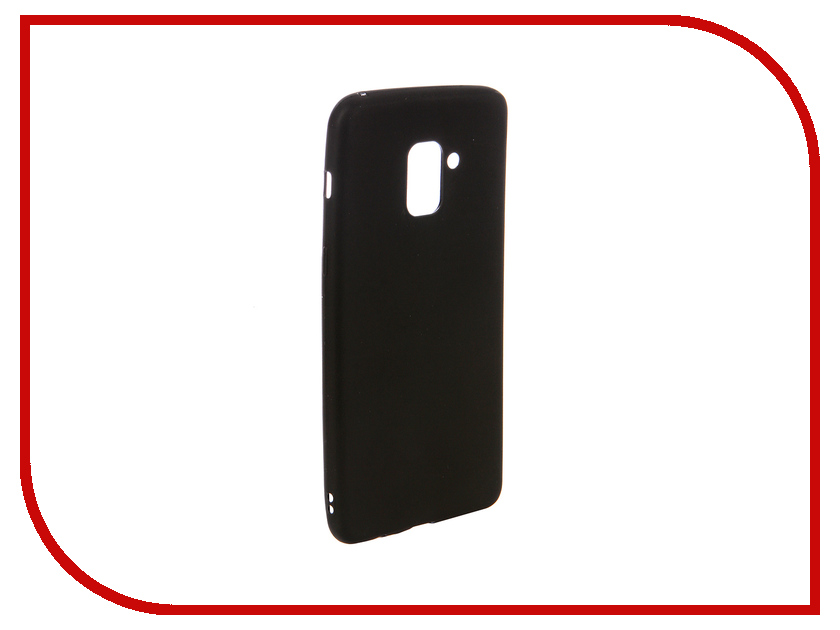 Аксессуар Чехол для Samsung A8+ Ubik TPU Black 31354 аксессуар чехол samsung j3 2017 j330f zibelino clear view black zcv sam j330 blk