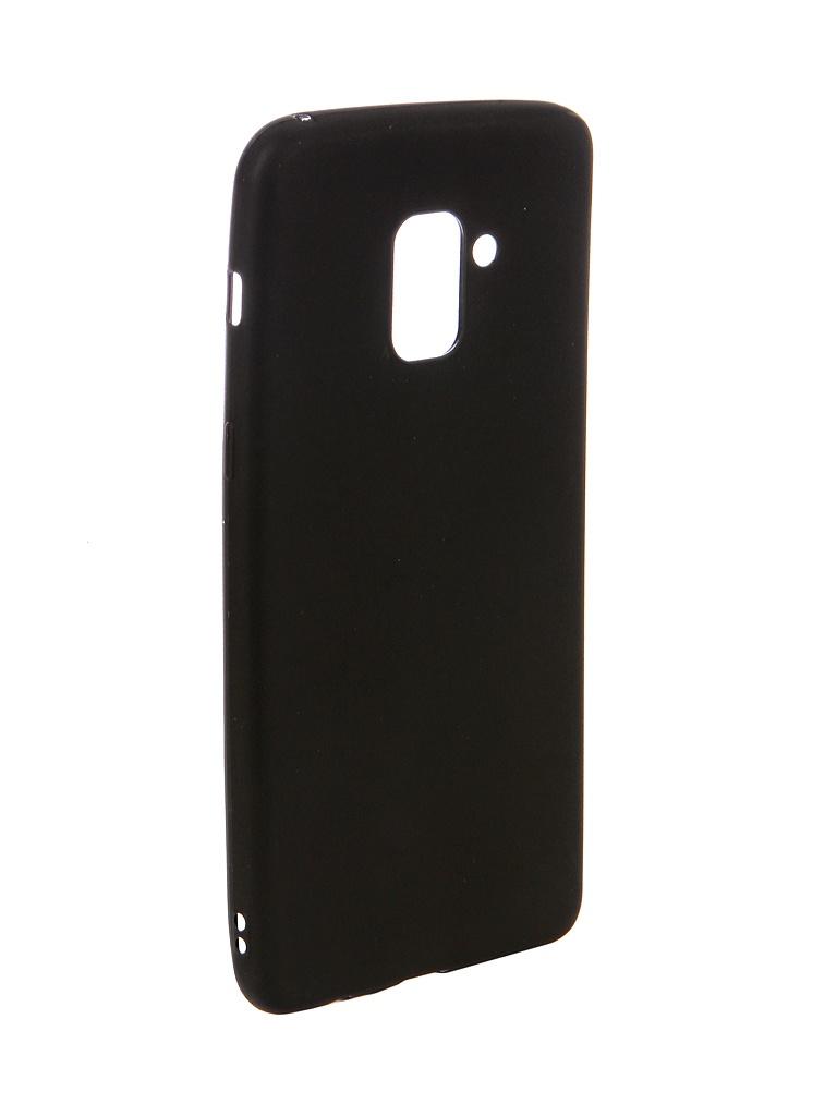 Аксессуар Чехол Ubik для Samsung A8+ TPU Black 31354 аксессуар чехол ubik для samsung a8 tpu black 31358