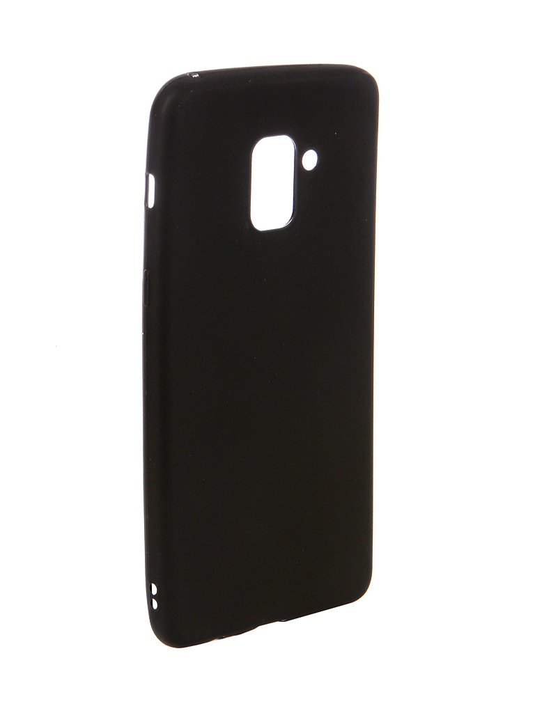 Чехол Ubik для Samsung A8+ TPU Black 31354