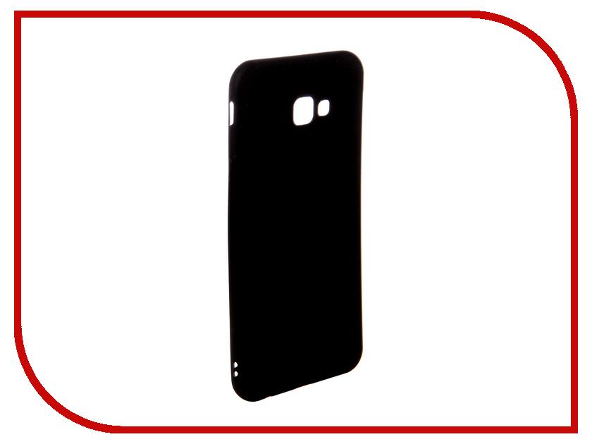 Аксессуар Чехол для Samsung J4+ Ubik TPU Black 31364 аксессуар чехол samsung j3 2017 j330f zibelino clear view black zcv sam j330 blk