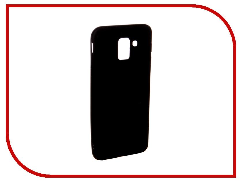 Аксессуар Чехол для Samsung J6 Ubik TPU Black 31366 аксессуар чехол samsung j3 2017 j330f zibelino clear view black zcv sam j330 blk