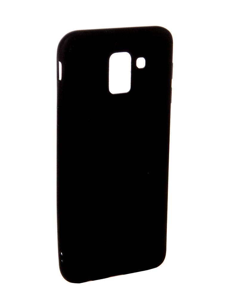 Аксессуар Чехол Ubik для Samsung J6 TPU Black 31366 аксессуар чехол ubik для samsung a8 tpu black 31358