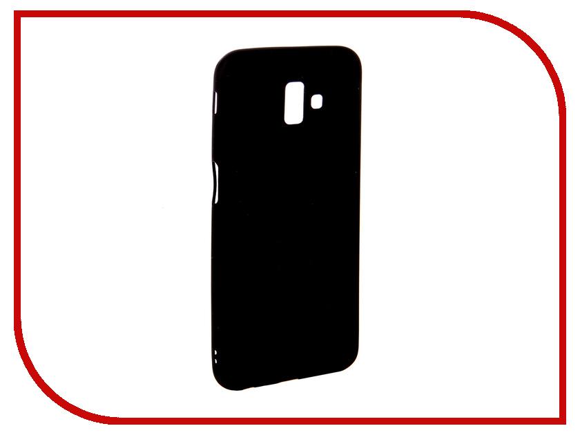 Аксессуар Чехол для Samsung J6+ Ubik TPU Black 31367 ubik ue04mgr grey