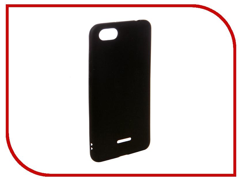 Аксессуар Чехол для Xiaomi Redmi 6A Ubik TPU Black 31347