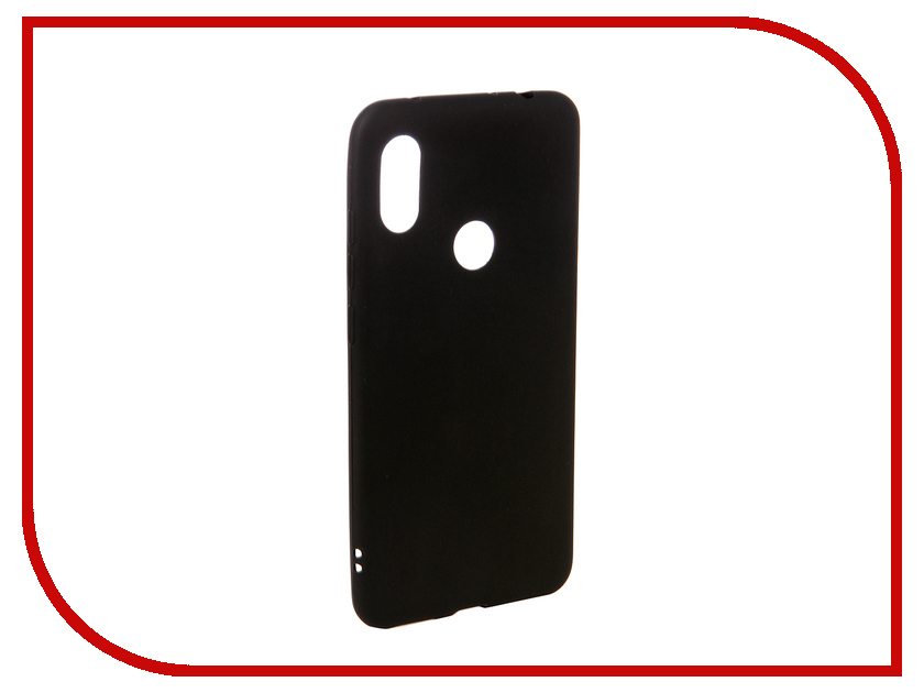 Аксессуар Чехол для Xiaomi Redmi Note 6 Pro Ubik TPU Black 31349 аксессуар чехол для xiaomi redmi 6 pro gecko transparent white s g xir6pro wh