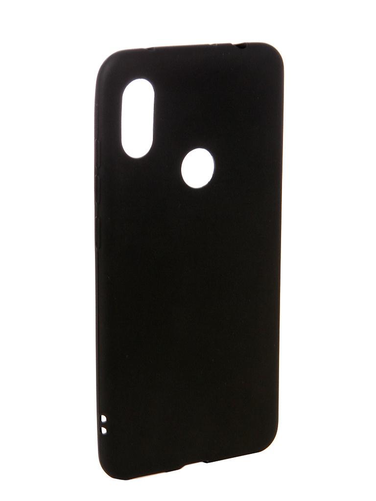 Аксессуар Чехол Ubik для Xiaomi Redmi Note 6 Pro TPU Black 31349 аксессуар чехол ubik для samsung a8 tpu black 31358