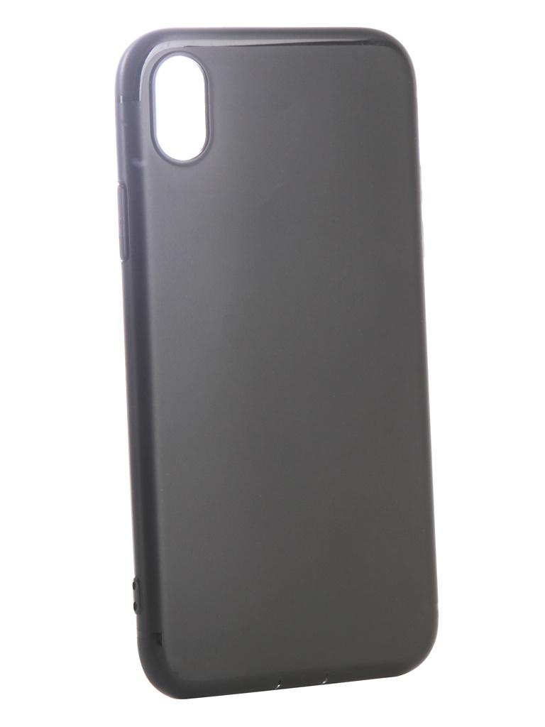 Аксессуар Чехол Ubik для APPLE iPhone XR TPU Black 31341 аксессуар чехол ubik для samsung a8 tpu black 31358