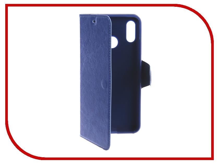 Аксессуар Чехол для Huawei Nova 3 Red Line Book Type Blue УТ000016623 аксессуар чехол для huawei p smart enjoy 7s red line book type blue ут000014550