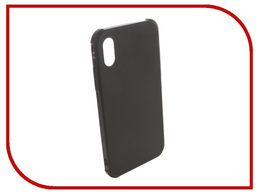 Аксессуар Чехол для APPLE iPhone XS Red Line Extreme Black УТ000016123 gissar twill чехол для apple iphone 5c black