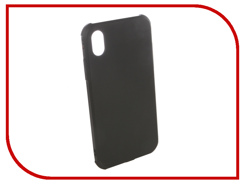 Аксессуар Чехол для APPLE iPhone XR Red Line Extreme Black УТ000016124 gissar twill чехол для apple iphone 5c black