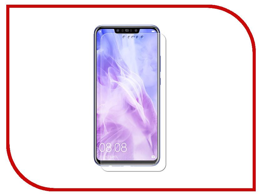 Аксессуар Гибридная защитная пленка для Huawei Nova 3 Red Line УТ000016907 аксессуар гибридная защитная пленка для lg q6 m700an 5 5 red line ут000015493