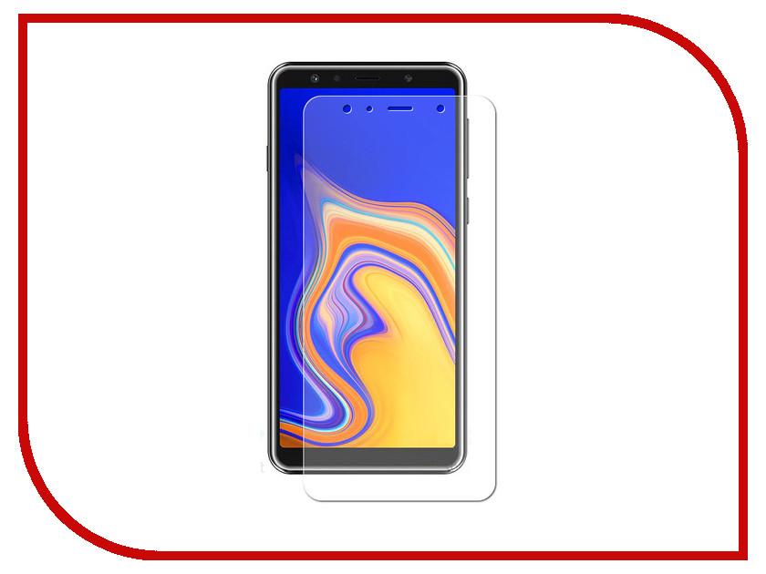Аксессуар Гибридная защитная пленка для Samsung Galaxy A9 2018 Red Line УТ000016909 аксессуар гибридная защитная пленка для samsung galaxy j6 plus 2018 red line ут000016660