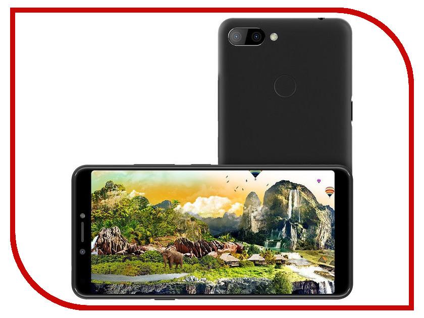 Сотовый телефон Itel A45 DS Midnight Black