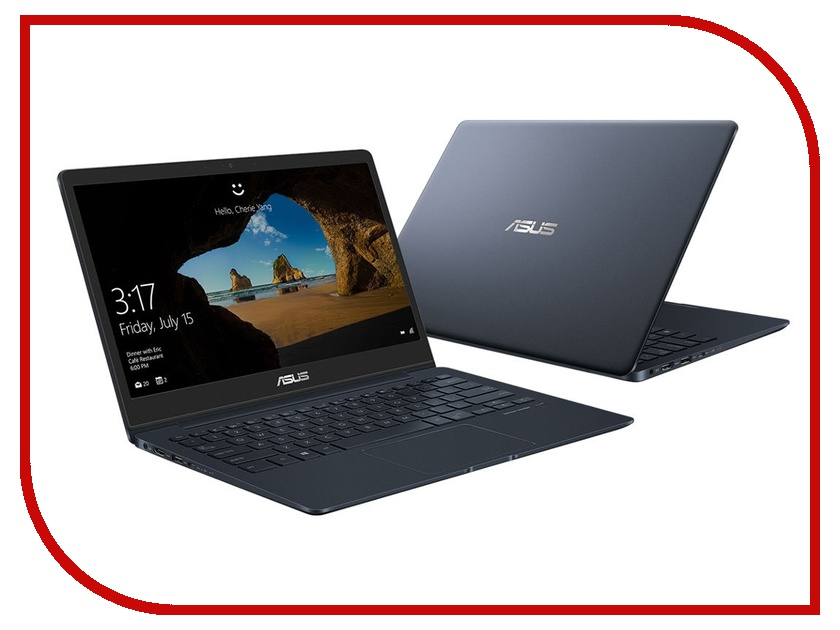 Ноутбук ASUS UX331UAL-EG060R 90NB0HT3-M03490 Deep Dive Blue (Intel Core i3-8130U 2.2 GHz/8192Mb/256Gb SSD/No ODD/Intel HD Graphics/Wi-Fi/Bluetooth/Cam/13.3/1920x1080/Windows 10 64-bit) ноутбук asus zenbook 13 light ux331ual eg060r core i3 8130u 8gb 256gb ssd 13 3 fullhd sleeve win10pro blue
