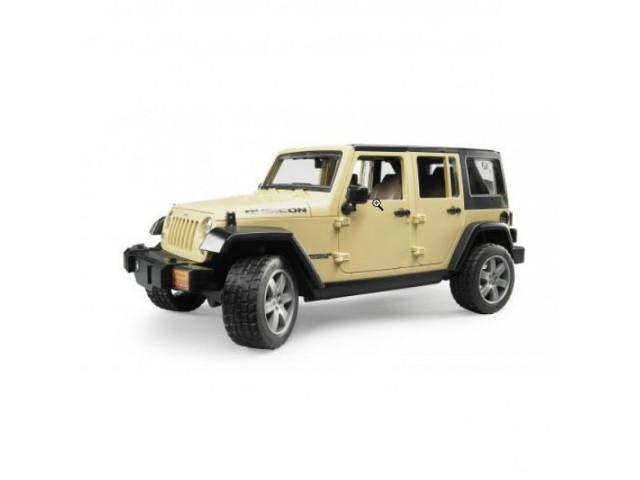 Игрушка Bruder Внедорожник Jeep Wrangler Unlimited Rubicon 02-525