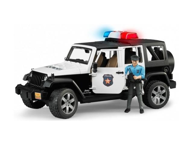 Полицейский внедорожник Bruder Jeep Wrangler Unlimited Rubicon 02-526