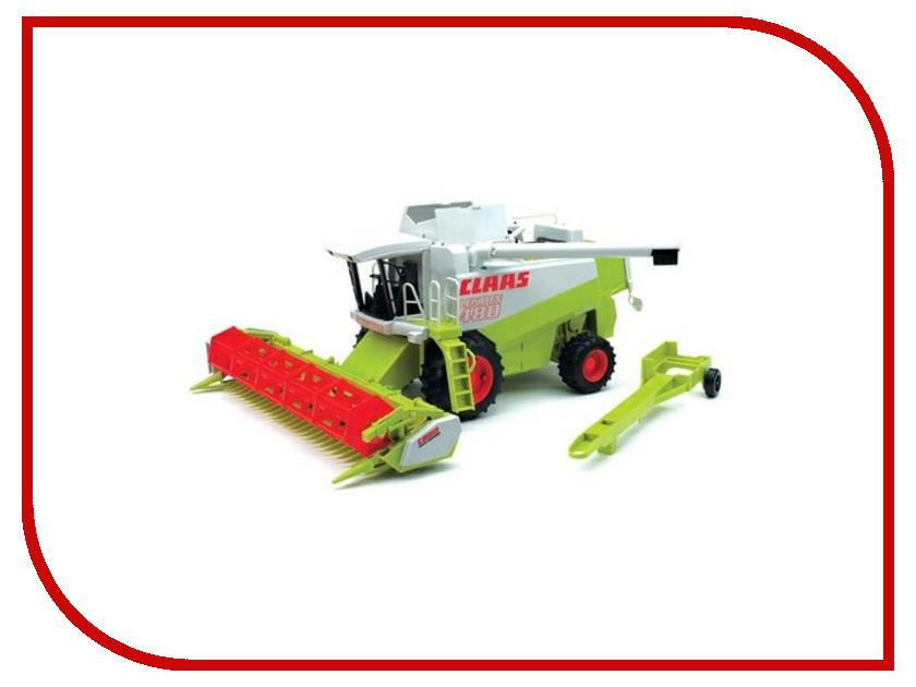 Игрушка Bruder Комбайн Claas Lexion 480 02-120 трактор bruder claas axion 950 bruder